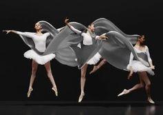 Ballerina: Tanz als komplexe Bewegung druckbar.