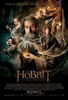 "Kinoplakat ""Der Hobbit: Smaugs Einöde"""