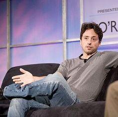 Sergey Brin: optimistische Zahlen. Bild: wikipedia, cc J. D. Davidson