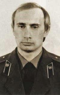 Putin in KGB-Uniform (ca. 1980)