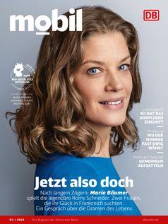 "Cover DB MOBIL - Ausgabe 04/18. Bild: ""obs/TERRITORY/DB MOBIL"""