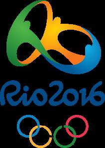 Logo der Olympischen Sommerspiele 2016 in Rio