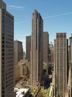 Das Comcast Building in New York City