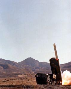 Landgestützter Marschflugkörper: Start einer BGM-109G Gryphon Ground-Launched Cruise Missile