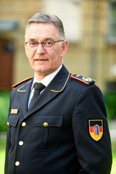 Dipl.-Ing. Hartmut Ziebs Präsident des Deutschen Feuerwehrverbandes  Bild:     Katrin Neuhauser
