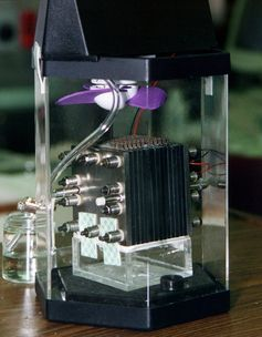 Mit Methanol betriebene Brennstoffzelle