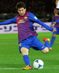 Messi 2011 im Trikot des FC Barcelona