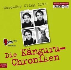 """Cover von """"Die Känguru-Chroniken"""""""