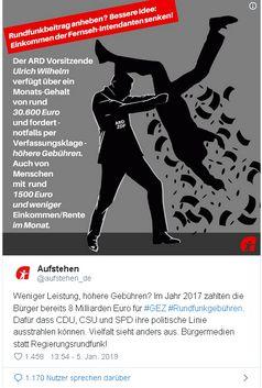 """Wagenknecht: """"ZDF und ARD sind Regierungsfunk"""""""