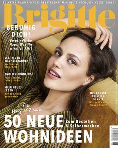 BRIGITTE Cover (EVT: 3.3.2021) BRIGITTE Studie  Bild: Gruner+Jahr, BRIGITTE Fotograf: Gruner+Jahr, BRIGITTE