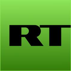 Logo von RT, ehemals Russia Today.