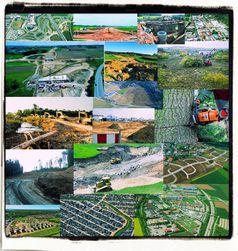 Klassischer Flächenfraß in Deutschland: Täglich über 1,2km² zerstörte Wälder für Neubaugebiete und Industriegebiete (ca. 120 Fußballfelder pro TAG oder 11m² pro Sekunde)