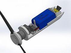 Design-Skizze: Drohne für den Granatwerfer.