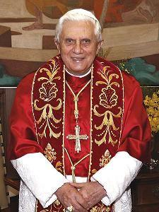 Papst Benedikt XVI Bild: Fabio Pozzebom