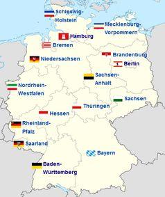 Bundesländer der BRD