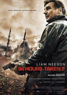 """Kinoplakat von """"96 Hours – Taken 2"""""""