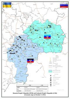 Donetsk und die Volksrepublik Lugansk