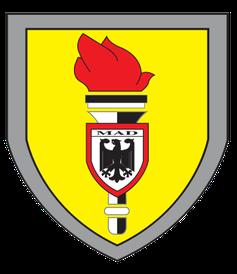 Amt für den Militärischen Abschirmdienst – MAD – Logo
