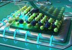 Fehlstellen dienen als Nano-Lichtquellen.