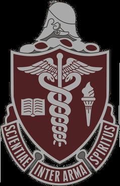 Wappen des Walter-Reed-Militärkrankenhaus