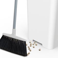 """""""Bruno""""-Mülleimer: Abfall wird automatisch eingesaugt. Bild: brunosmartcan.com"""
