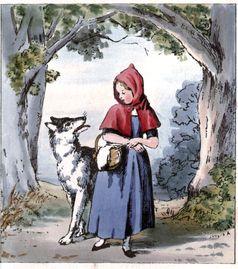 Rotkäppchen Illustration