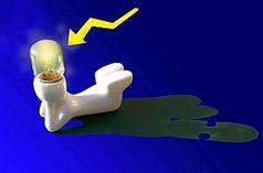 Zündende Idee: Gehirn braucht Zerstreuung. Bild: pixelio.de/Hofschläger