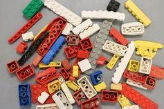 Lego-Bausteine: vom Meer kaum beeinflusst.