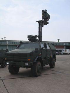 2014 wurden von der Bundeswehr mehrere Dingos an die kurdischen Streitkräfte geliefert