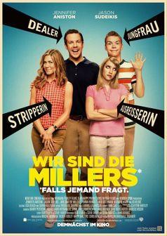 """""""Wir sind die Millers"""" Kinoplakat"""