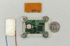 Modul: Innovation gewinnt Strom allein aus Körperwärme.