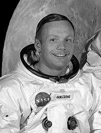 Neil Armstrong am 1. Mai 1969