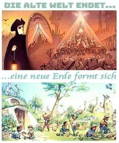 Die alte Welt endet, eine neue Erde formt sich...(Symbolbild)