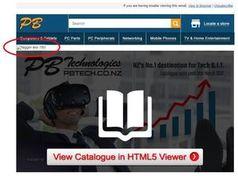 Screenshot des Newsletters von PB Tech