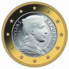 Lettland 1 Euro