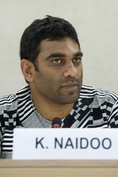 Kumi Naidoo Bild: UN Geneva, on Flickr CC BY-SA 2.0