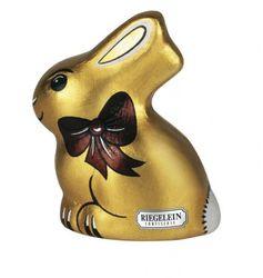 """Der goldige Hase von Riegelein. Bild: """"obs/Confiserie Riegelein"""""""