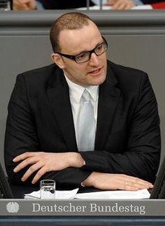 Jens Spahn Bild: Deutscher Bundestag  / Lichtblick/Achim Melde