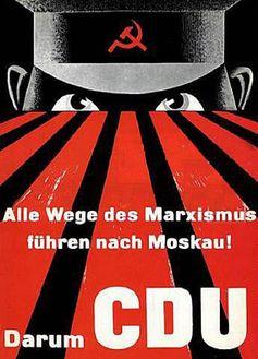 Die CDU hatte schon immer einen starken Dran gegen Russland (Symbolbild)