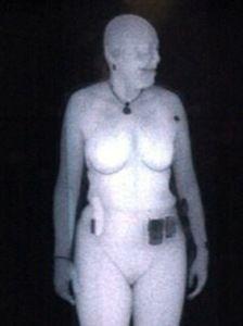 Nacktscanner-Bild: Gefährliche Substanzen nicht zuverlassig zu finden. Bild: TSA