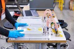 Akkumodul im Labor: könnte noch nützlich sein.