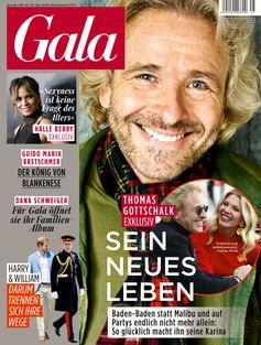 """GALA Cover 45/2019 (EVT: 30. Oktober 2019) Bild: """"obs/Gruner+Jahr, Gala"""""""