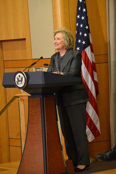 Hillary Clinton in September 2014