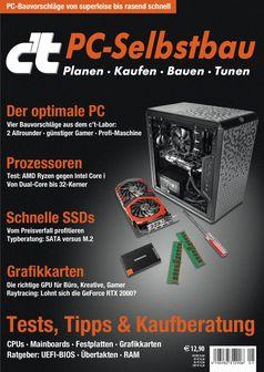 "Sonderheft c't PC-Selbstbau. Bild: ""obs/c't"""