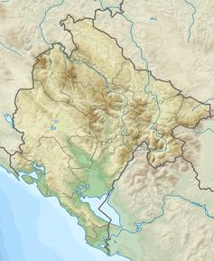 Karte von Montenegro