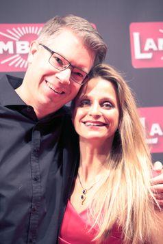 Frank Thelen mit Ehefrau Nathalie Thelen-Sattler (2018)