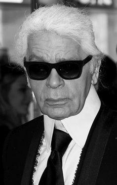 Karl Lagerfeld (2014), Archivbild