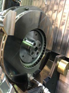 Fertigbearbeitete, EHLA-beschichtete Bremsscheibe. Quelle: © Buderus Schleiftechnik, Aßlar | HPL Technologies, Aachen. (idw)