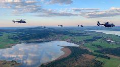 Taktische Übung Luftfahrerschule Bild: Polizei