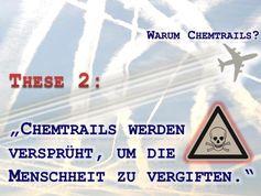 """Absichtlich verbreitete Desinformation: """"Chemtrails werden nur versprüht, um die Menschheit zu vergiften"""""""
